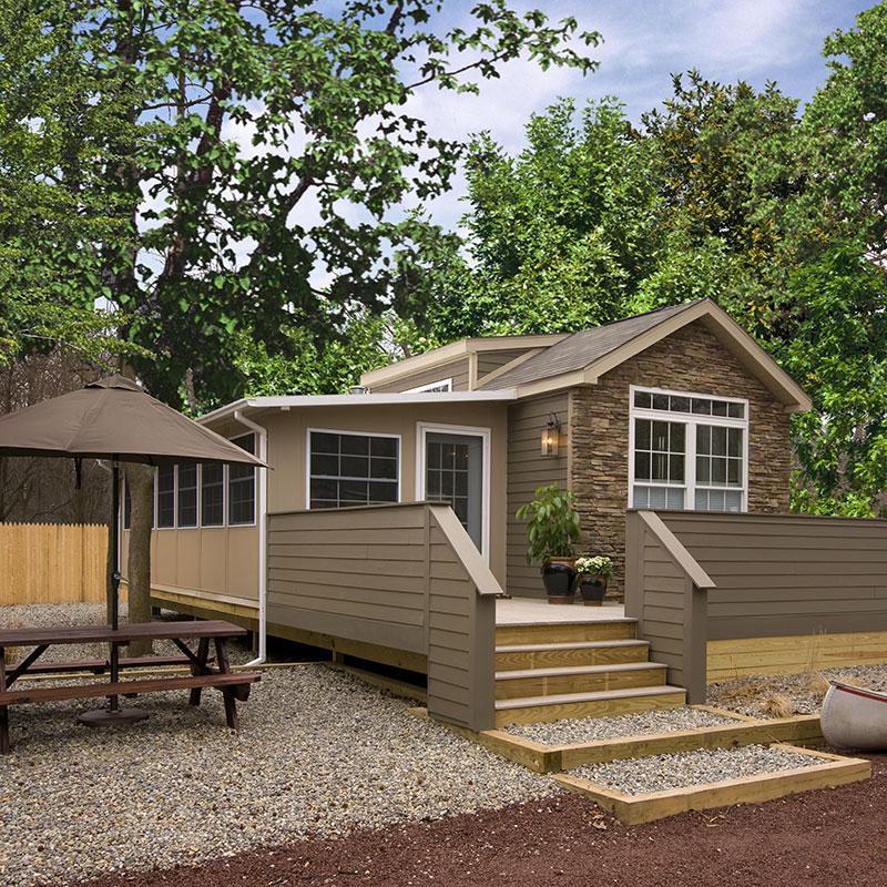 Luxury park model home